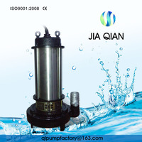 380v Drainage vertical submersible sewage centrifugal pump