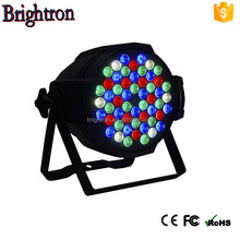 Waterproof Led Par RGBW 4in1 Stage Led Light Quad Color Mixing IP65 Outdoor&Indoor Suitable 54x3w Led Par Washing Show Lighting