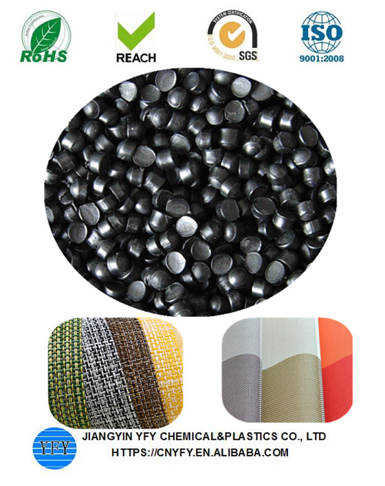Reach standard plastic material pvc pellets for textile coated