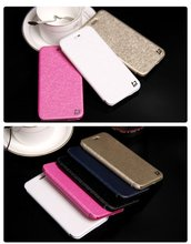 Excellent Product Silk PU Leather Mobile Phone Case for iPhone 6