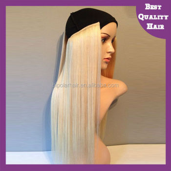 New trend wholesale russian remy human hair halo hair extensions