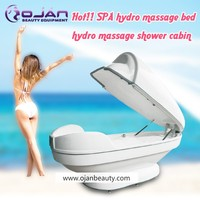CE Certificate water jet massage equipment / infrared slimming spa capsule