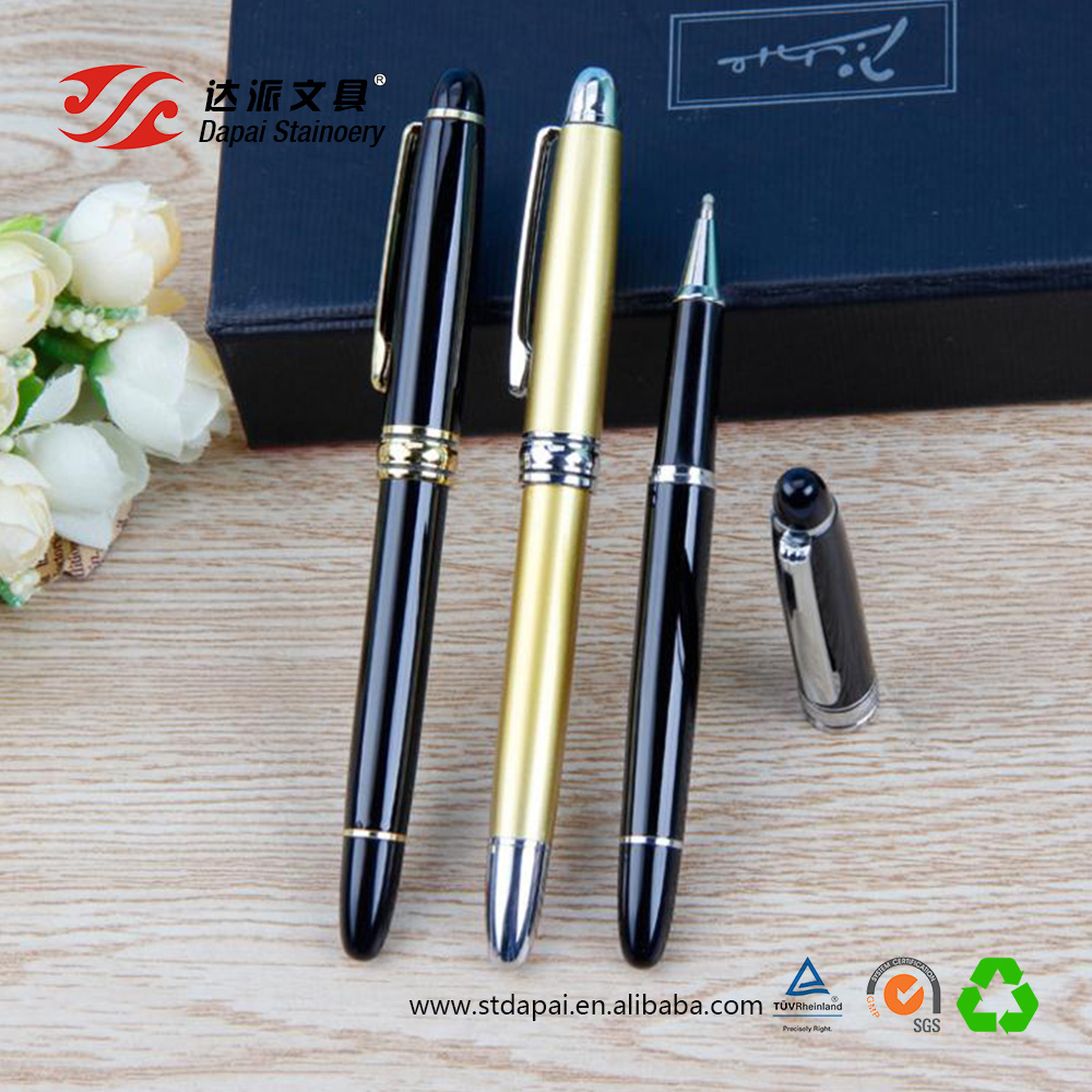 Metal signature pen high-grade pearl pen gift stationery metal ball pen