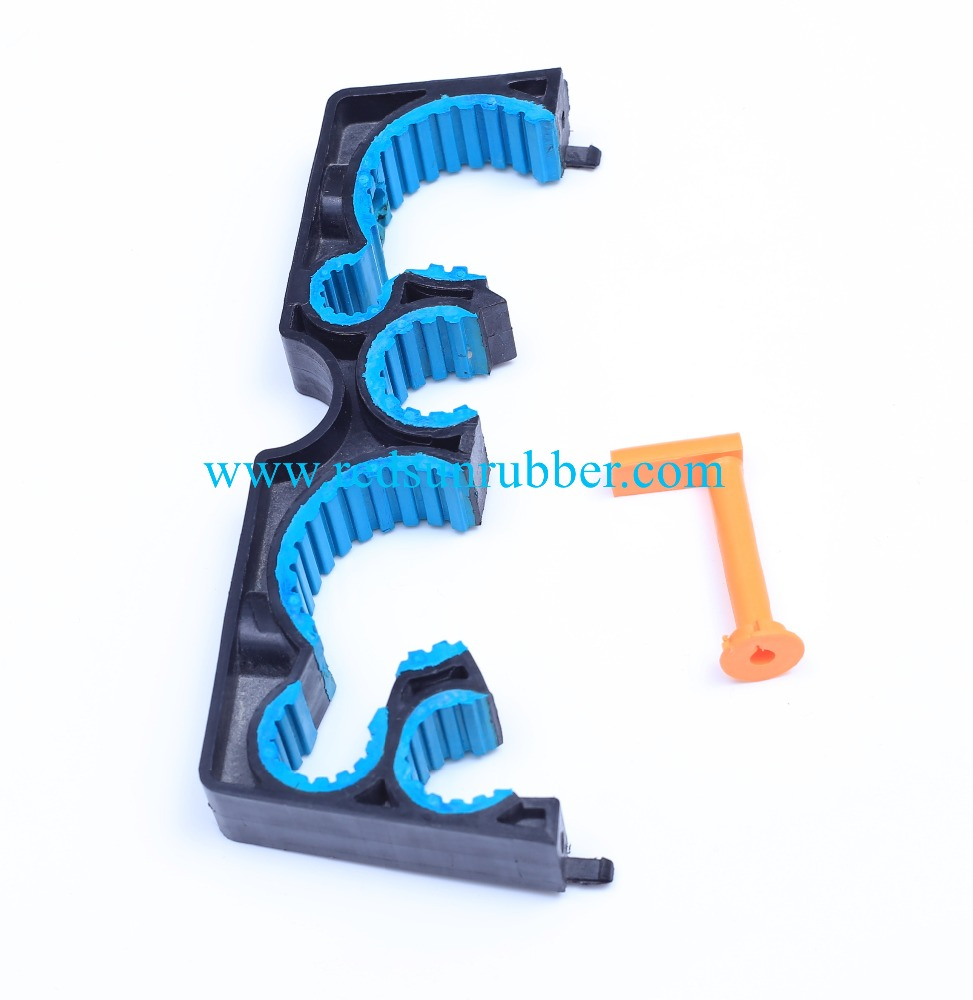 Rubber Coated Plastic Injection Products