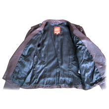 High performance customized real ladies leather jackets coat material