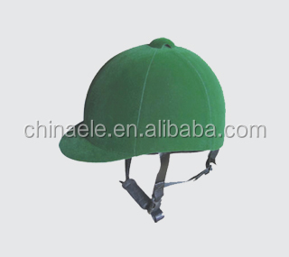 Horse riding helmet cover