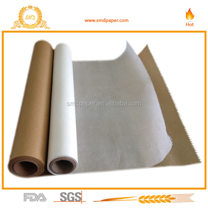 FSC certificated non stick baking parchment paper 74 sq ft