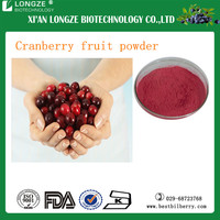 Frozen Fruit Vaccinium macrocarpon/Cranberry Extract Powder with Anti-oxidant (PAC)Proanthocynidins 5--60%, Anthocyanidins 5-25%