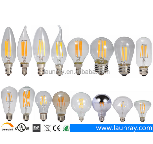 Manufacturer Energy Saving Led light Led Filament Blb 2W 4W 6W 8W Dimmable non-flicker Filaments with Led Pendant Lampada <strong>E27</strong>