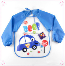 baby bib clothes waterproof fabric to make baby bibs peva bib