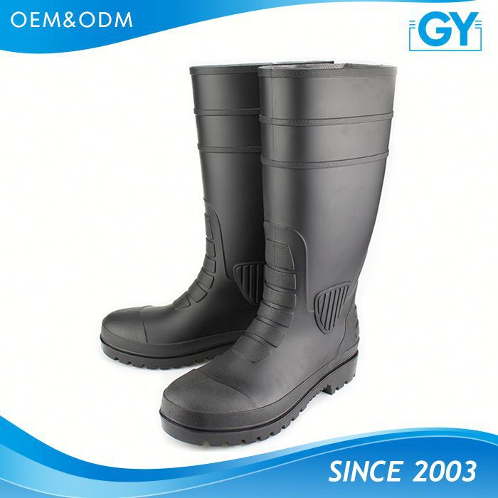 Factory making high quality working place pvc rain boots machine