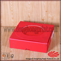 Customized cardboard biscuit cookie box packaging with greaseproof paper
