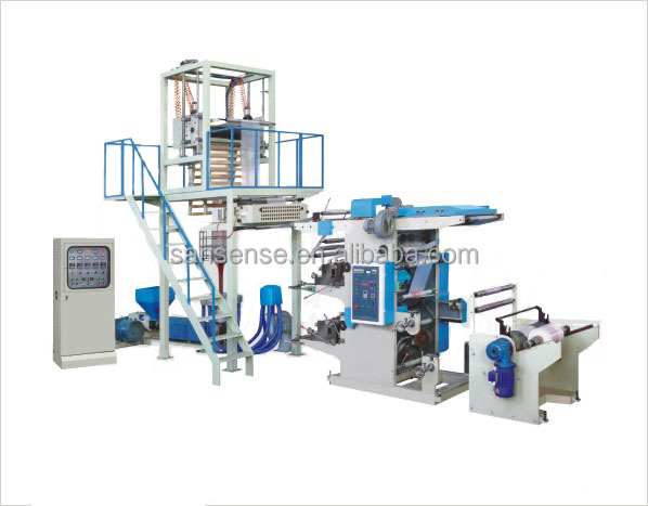 film extruder/film blowing machine and printing machine