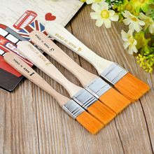 Promotion high quality 4pcs smooth nylon hair artist oil painting brush watercolor painting brush