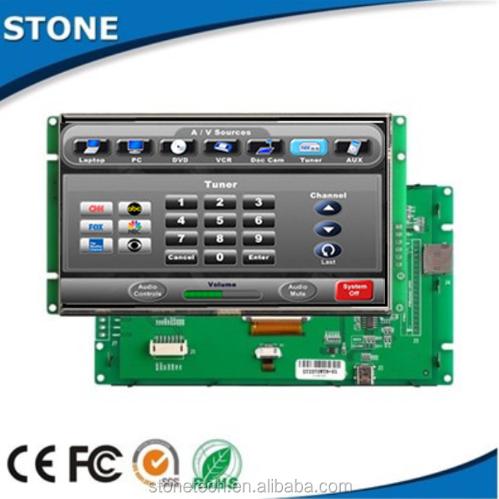10.4 inch panel touch screen PLC HMI /800*600 /RS232/RS485/TTL port, working with Android windows Linux system