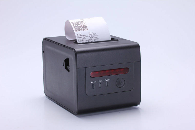 TS-E802 pos computer usb wifi serial 3inch mini ticket barcode printer thermal driver with auto cutter