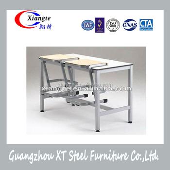 China factory school furniture classroom attached tables for School furniture from china
