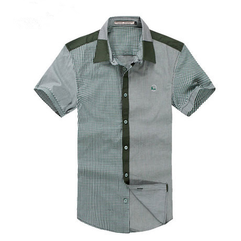 Latest cotton yarn shirts for man hemden pictures