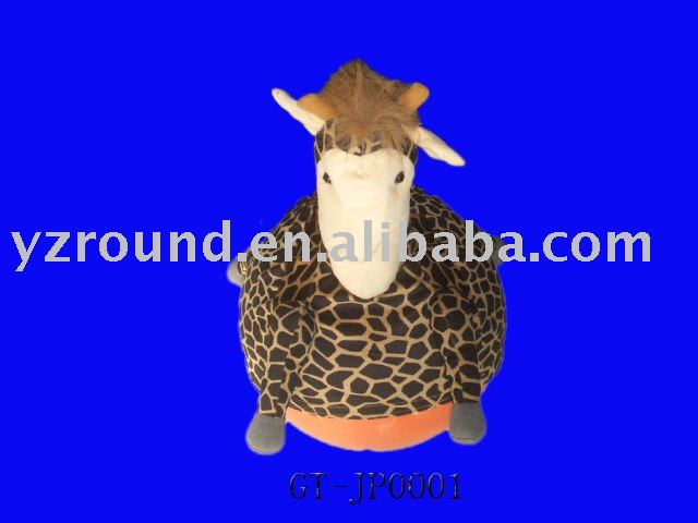 plush jumping giraffe bouncy ball baby healthy toy