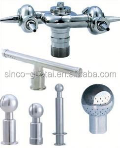 sanitary clamping rotary clean balls