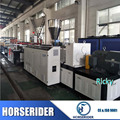New designed long life plastic PVC wood crust foam board making extrusion machine/plastic ground floor production line