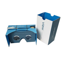 March Expo 10% Off High Quality Google Cardboard Paper Stereo Viewer Cardboard VR 3d Glasses