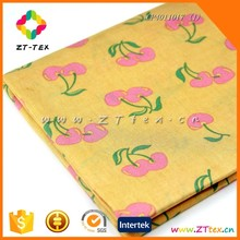 ZTTEX printed bedding sheet fabric floral printing fabric for bed sheeting