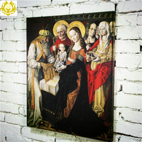 wholesale european style retro printing painting wall art