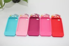 silicone case for iphone 4G/4GS