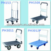 China factory quality competitive price Foldable Platform Hand Truck with power steel handle