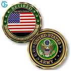 High quality memorable metal challenge coin with factory price