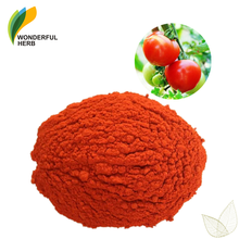 Antioxident pure tomato extract powder benefits for skin lycopene 90%