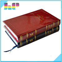 custom printing brochure tablet dvd case for leather bound books