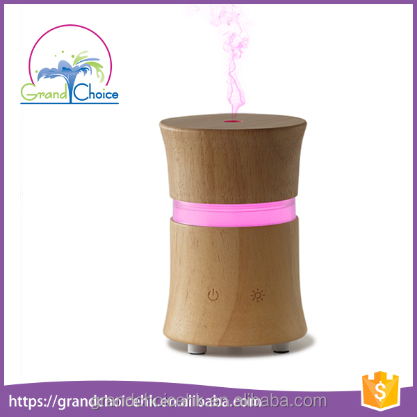 Wholesale Scented Hotel Room Water Mini Wood Ultrasonic Aroma Air Freshener Diffuser