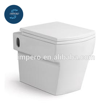 China Bathroom Sanitary Ware, watermark Custom Color Siphonic Toilet, One Piece Toilet