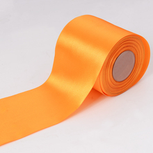 4 inch Extra Wide Single Sided Satin Ribbons 100mm
