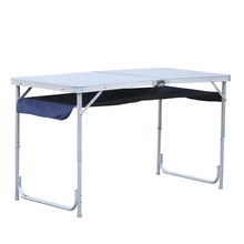 Aluminum 120 *60*70cm length dimension 2 person fold up camping <strong>table</strong> for picnic