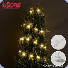 2015 Promotional Tool Items LED Christmas Mini CRAFT Battery Operated Copper String Lights
