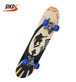 Wholesale children skateboard cheap price chinese maple kids skateboard concave skate board customized