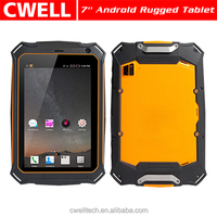 IP67 Waterproof, Shockproof, Dustproof 7 inch P110 7000mah Battery Tablet with Belt Support 4G Lte B1/2/3/4/5/B7/B8/20 B38