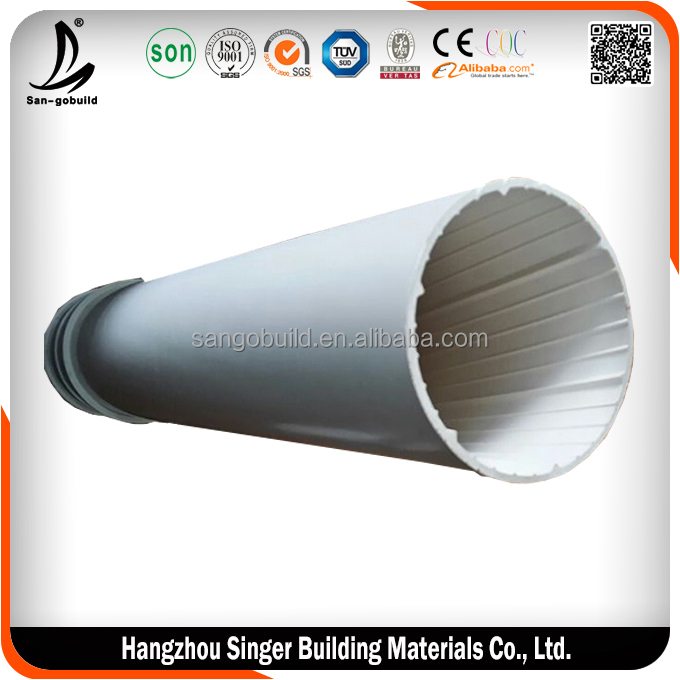 12 inch sewer pipes for sale, hot sale flexible sewer pipe