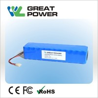good quality 16S1P 60V 18650 2200mah 132Wh electric unicycle/scooter/monocycle battery pack