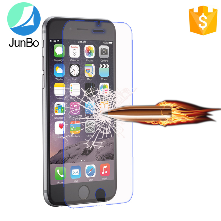 Junbo New arrival high transparency 9H tempered glass screen protector for Iphone 7