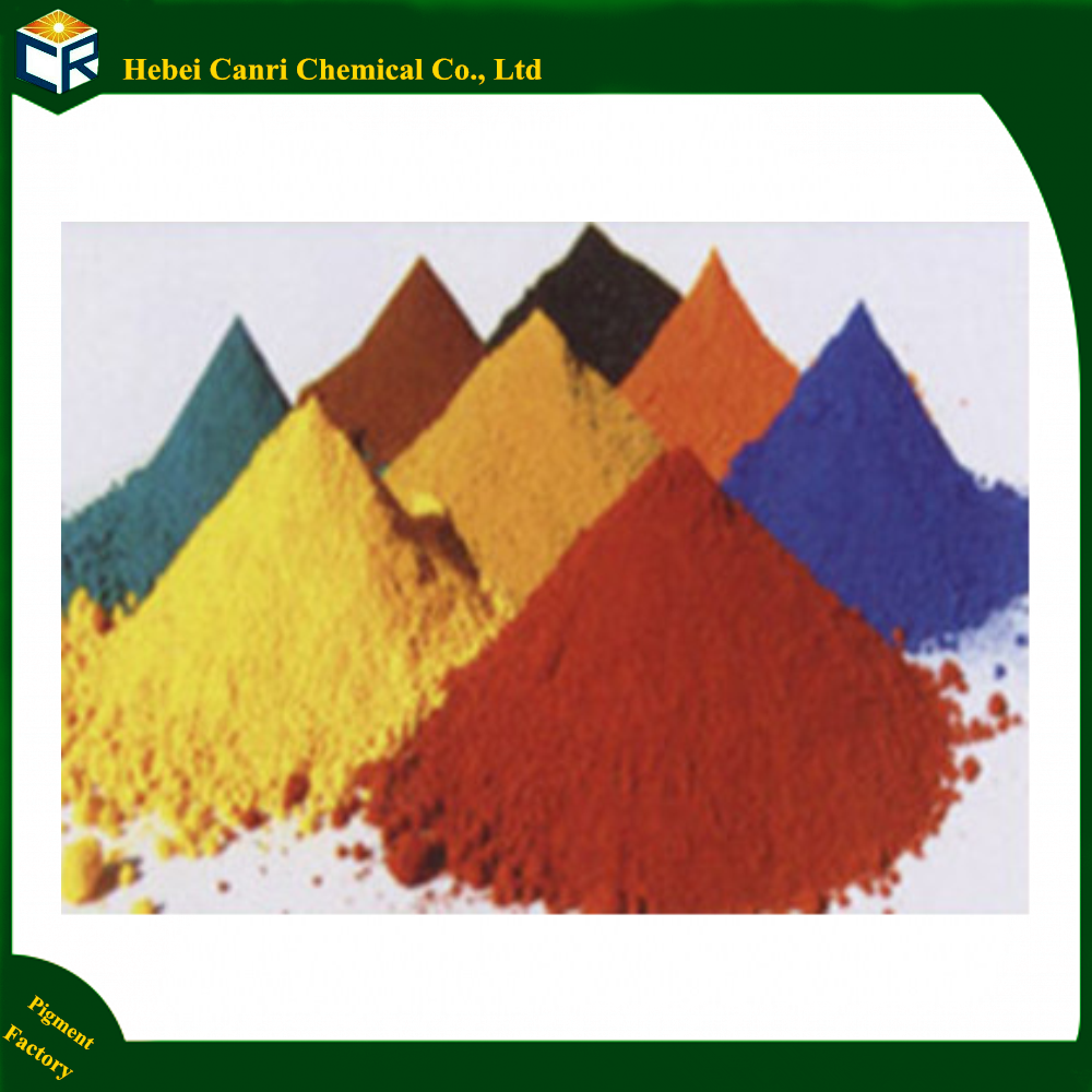 Manufacturer offer ferric/iron oxide/oxyde ceramic tiles raw materials pigment for glaze/porcelain/enamel