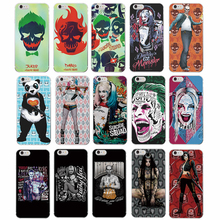 TOMOCOMO For iphone5 6 6Plus 7 7Plus 8 8Plus X Suicide Squad Harley Quinn Jared Leto Joker Comics Panda Soft Phone Case