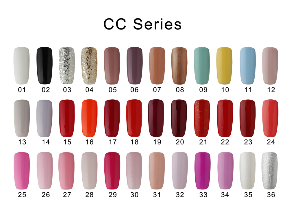 Hot Sale Colorful 8ml high quality Gel Nail Polish UV Gel