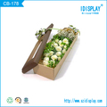 customized color paper gift box for flower packaging