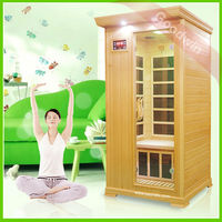 sauna and steam combined room Individual Far Infrared Sauna Room,sauna