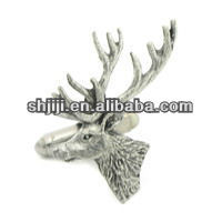 Arts & Crafts Fashion Lifelike Animal Beer Head Cufflinks