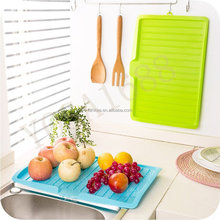 Plastic Dish Drainer Tray Large Sink Drying Rack Worktop Washing Display Holder Basket Sorting Tray